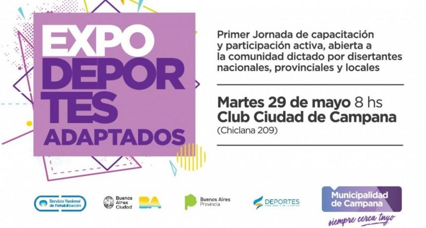 """Se viene la primera jornada de """"Expo Deportes adaptados"""""""