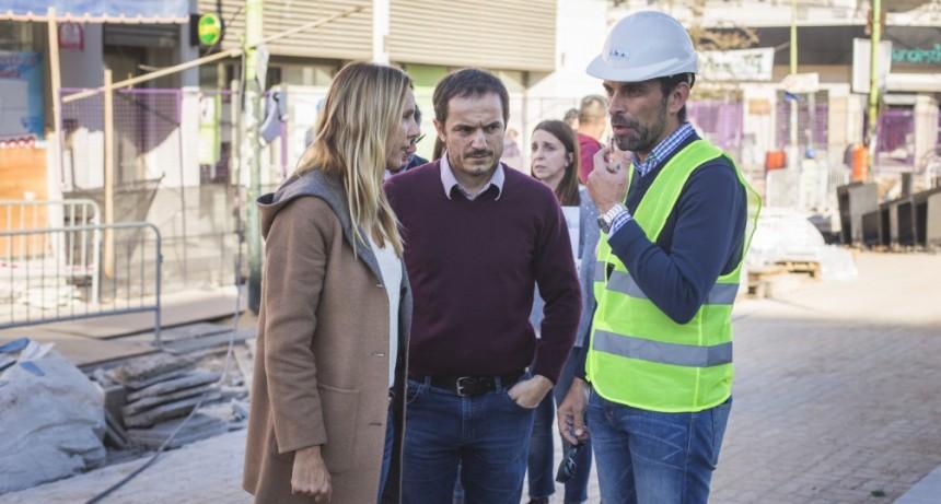 El Gobierno nacional supervisó el avance de las obras que se realizan en la ciudad