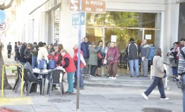 El Municipio instaló una Mesa Itinerante de Consultas, Información y Asesoramiento para Jubilados