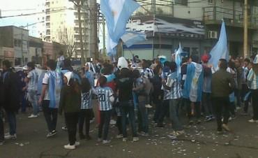 ARGENTINA GANÒ POR 3 A 2 A NIGERIA Y SE FESTEJÒ EN CAMPANA