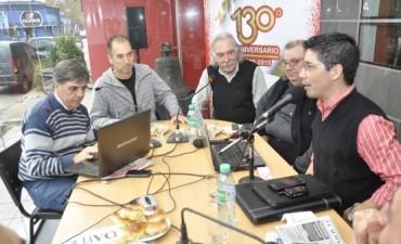 Periodistas y Comunicadores se unieron en una transmisión especial por el 130º Aniversario de Campana