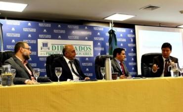 """Campana participó de la 2º Jornada de Debate """"Perspectivas para la Seguridad de la Provincia"""""""