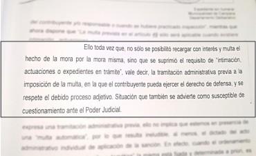 """""""El Tribunal de Cuentas confirmó que el Municipio le está metiendo la mano en el bolsillo a los vecinos"""""""