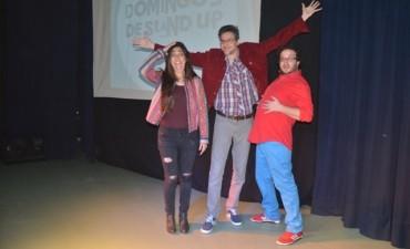 "El Pedro Barbero volvió a reír con ""Domingos de stand up"""
