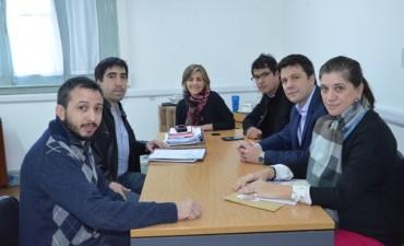 El Municipio acordó una serie de acciones con la Cámara de Jóvenes Empresarios