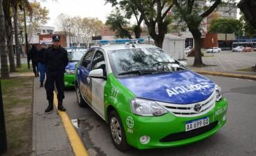 El Intendente gestionó la llegada de nuevos  móviles policiales 360°