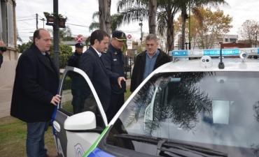 Sergio Roses: Los nuevos móviles son fundamentales para llevar seguridad a todos los rincones de Campana