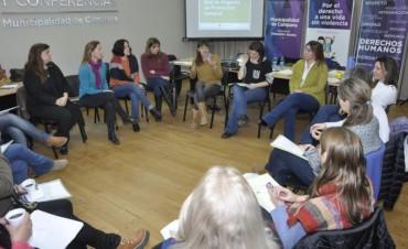 Personal municipal se capacitó en violencia familiar y de género