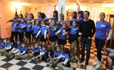 Alumnas de la Escuela Municipal de Patín Artístico participarán de un torneo amistoso