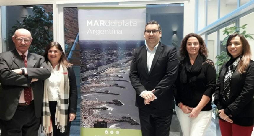 Mar del plata presentó su oferta turística a asociaciones profesionales, agencias de viajes y medios de prensa