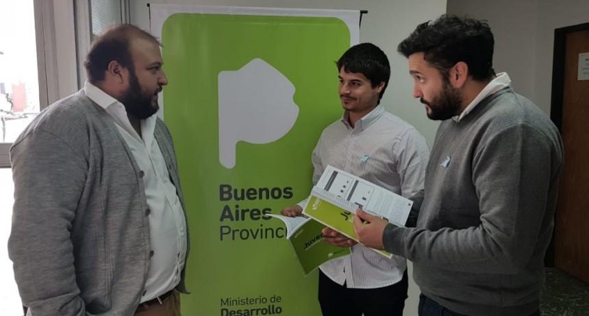 Campana participó de la presentación de la Encuesta Provincial Joven