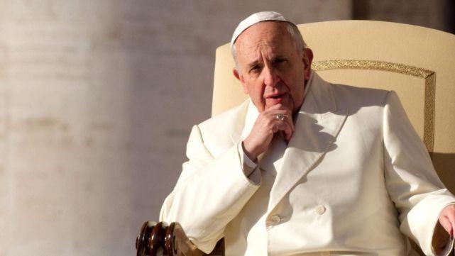 Se truncó el encuentro entre el Seleccionado y el Papa