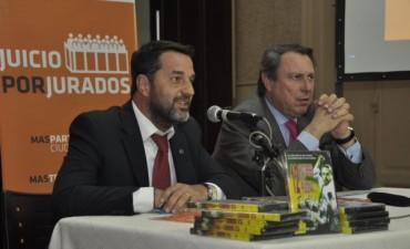 """El Ministro de Justicia bonaerense, Dr. Casal, disertó en Campana sobre """"Juicio por Jurados"""""""