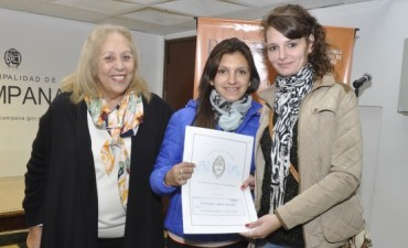 Provincia y Municipio concretaron una nueva entrega de Escrituras Sociales