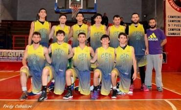 Club Ciudad de Campana supero 71-58 al Club Náutico Zárate