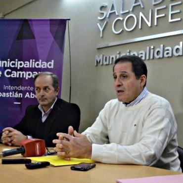 """""""Intentamos en todo momento que Tenaris le pague todo lo que debe a la ciudad pero no quieren hacerlo"""", aseguró Ibarra"""