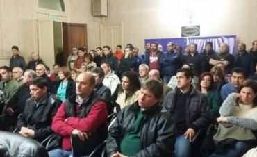 La asamblea de concejales y mayores contribuyentes en el HCD convalidò el aumento de tasas