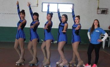 Alumnas de la nueva Escuela Municipal de Patín avanzan en los Juegos Bonaerenses