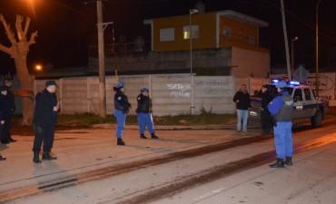 Seguridad: realizan un importante operativo de saturación en el barrio La Josefa