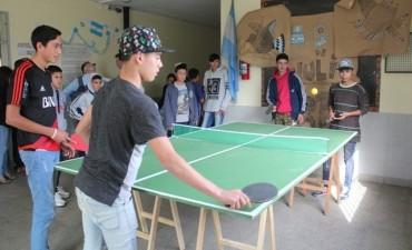 El Ping-Pong llegó a la Escuela Secundaria Nº 13 de San Felipe