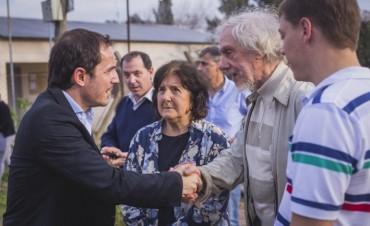 El Intendente presentó obras muy esperadas en Los Pioneros