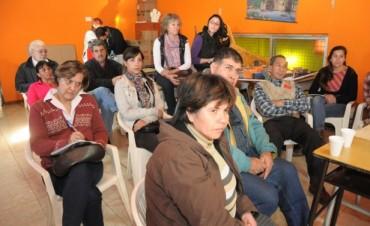Culminaron los encuentros del Gabinete Social en Barrio Del Pino