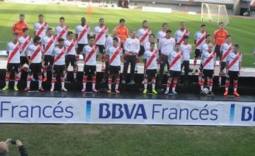 River presentó su plantel junto a BBVA Francés
