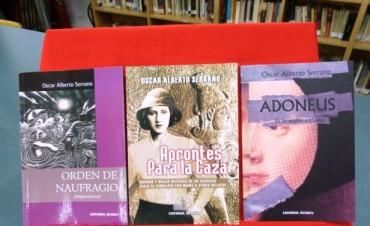 El viernes se desarrollará el Homenaje al escritor Oscar Serrano