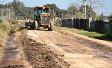 El Municipio realizó obras de Mantenimiento Integral en el Barrios Los Pioneros