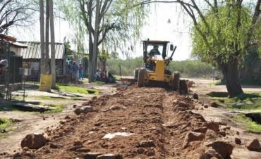 El Municipio concreta obras que mejoran la calidad de vida de los vecinos del barrio La Josefa
