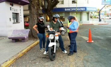Personal de Tránsito y Transporte Municipal continúa con los operativos de prevención y control