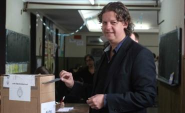 Votó Christian Castillo: