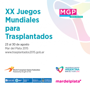 Este domingo comienzan los XX Juegos Mundiales para Trasplantados