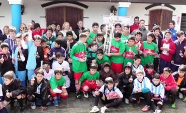 """La Intendente Giroldi acompañó la Final de la Categoría """"A"""" del Torneo Infanto-Juvenil de Fútbol """"Pasión por Mi Barrio"""""""