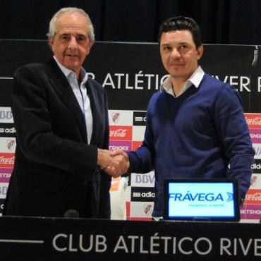 Marcelo Gallardo renovó su contrato con River Plate