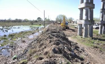 El Municipio continúa desarrollando trabajos en el Barrio San Cayetano