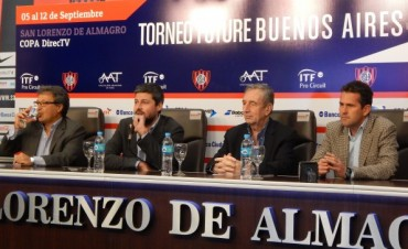 San Lorenzo será sede de un torneo internacional