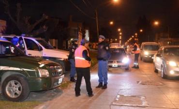 Fuerzas federales de seguridad volvieron a realizar operativos de control en la ciudad