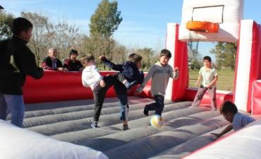 Cientos de chicos disfrutaron las vacaciones de invierno con actividades itinerantes