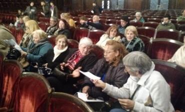 Adultos mayores disfrutaron de un concierto en la Facultad de Derecho de la UBA
