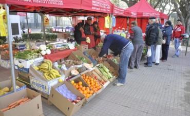 Hoy la Feria de Productores Locales estará en la Plazoleta Belgrano