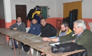 Vecinos de Las Acacias se reunieron con autoridades municipales y concejales