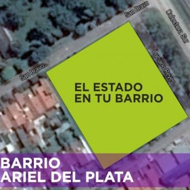 Desde hoy, los vecinos podrán sacar el DNI y realizar distintos trámites en la entrada de Ariel del Plata