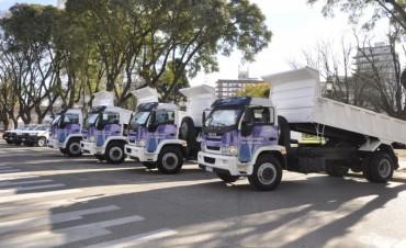 El Municipio invierte más de $7 millones en nuevos vehículos para mejorar los servicios a los vecinos