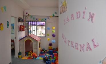 El Intendente inauguró una sala maternal en San Cayetano