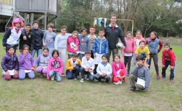 En un jornada llena de sorpresas y actividades, el Municipio festejó el Día del Niño con los chicos de la isla