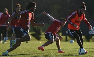 River Plate se entrenó en Ezeiza pensando en la definición de la Recopa