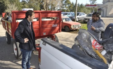 El Municipio comenzó a prestar el servicio de Higiene Urbana