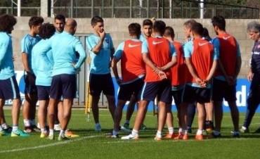El plantel profesional de San Lorenzo de Almagro ultima los detalles para recibir a San Martin de San Juan