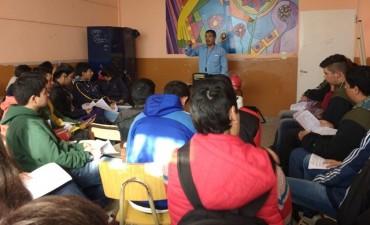 Alumnos de la Escuela Nº 20 de Villanueva se capacitaron en seguridad vial